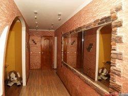 отделка коридора в Сургуте