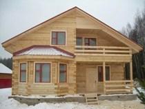 Строительство домов из бруса в Сургуте. Нами выполняется строительство домов из бруса, бревен в городе Сургут и пригороде